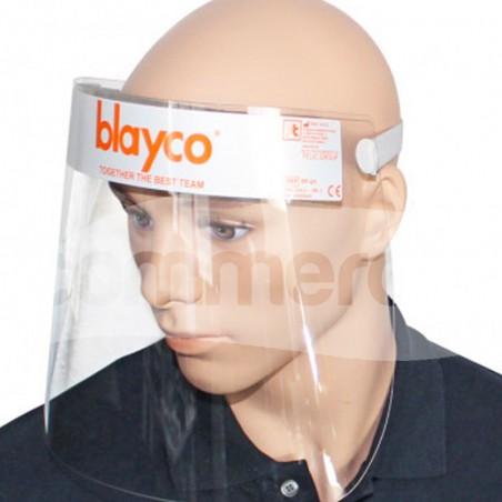 Visore mono giornata per la protezione di occhi e viso