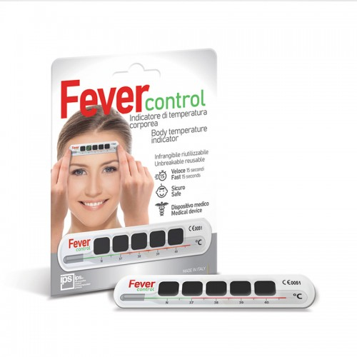 Termometro frontale Fever control in blister